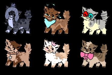 Small cats OTA (closed) by Adoptsonlyy