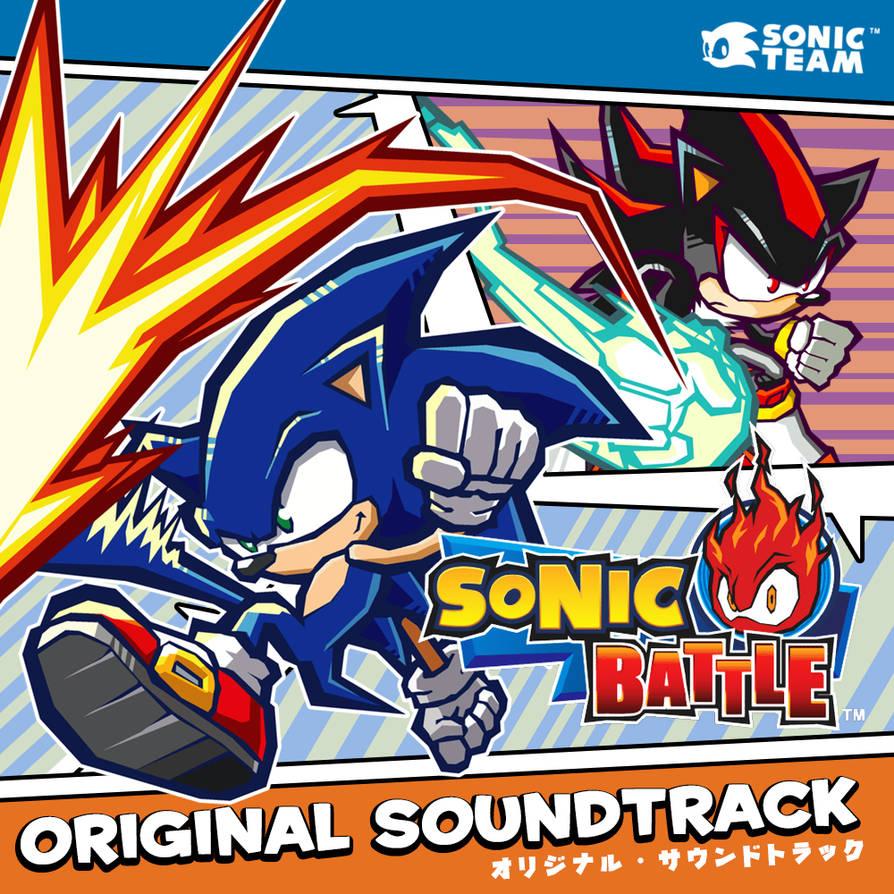 Sonic Battle: OST Album Art by Danhanado on DeviantArt