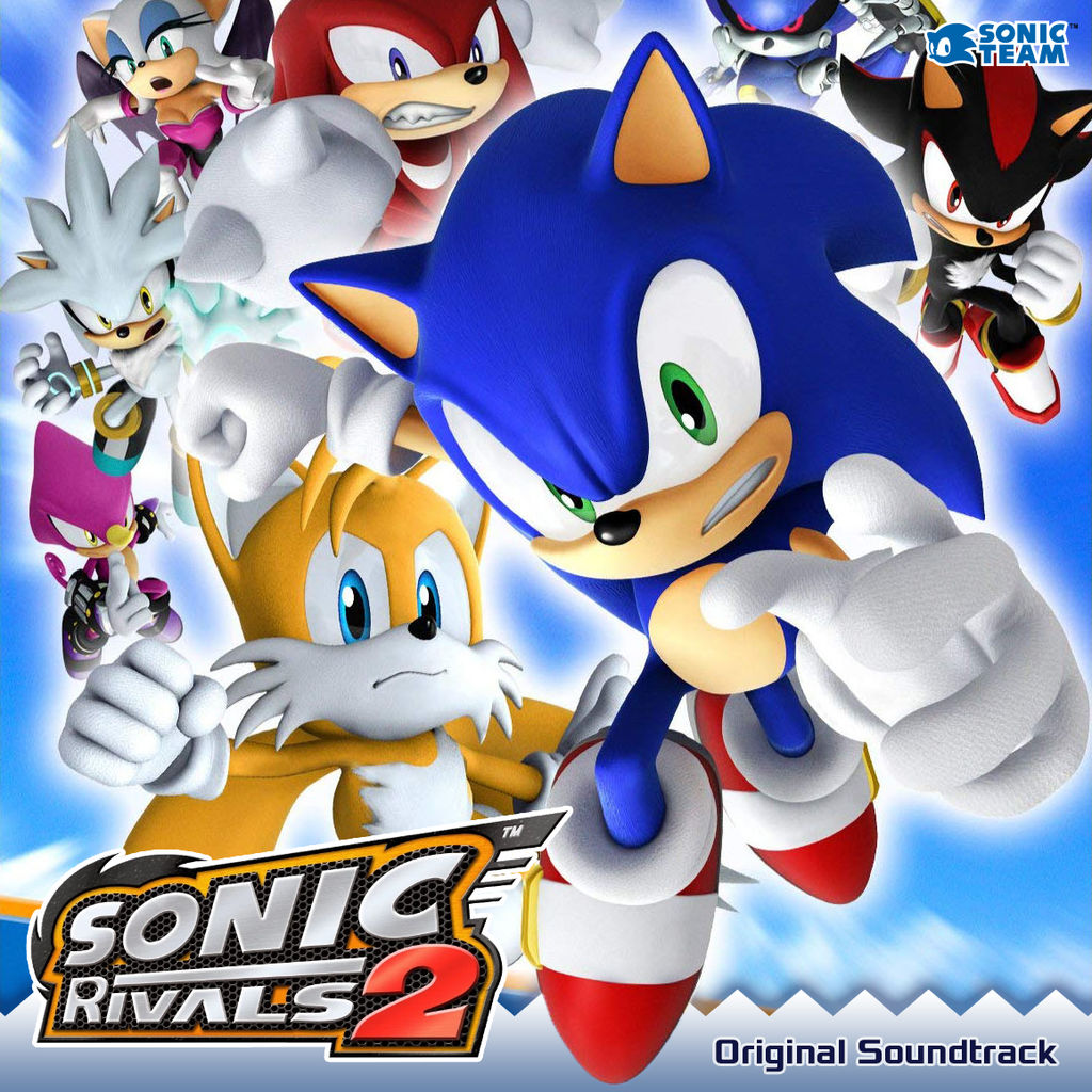 Sonic Rivals 2 Ost Album Art By Danhanado On Deviantart