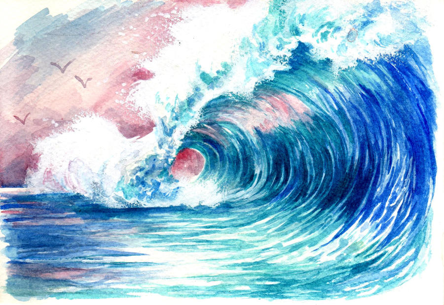 the endless wave by Nin-notte-in-neve
