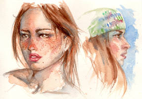 watercolour study3 by Nin-notte-in-neve