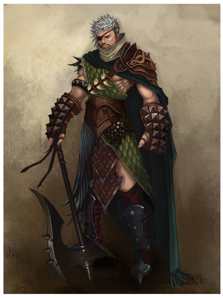 Fantasy warrior men - photo#7