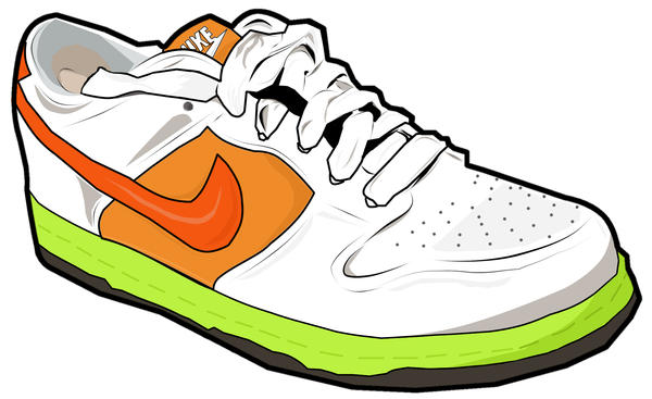 Vector: Nike Shoe by Madygirl ...