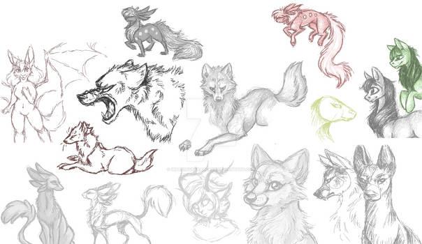 Old iScribble Sketch Dump