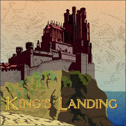 King's Landing by ZacharyFeore