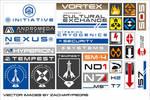 Mass Effect Andromeda logos