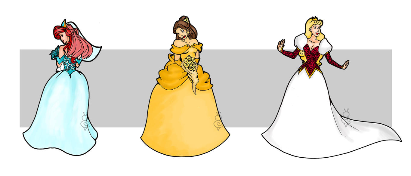 Disney Brides by tuneting