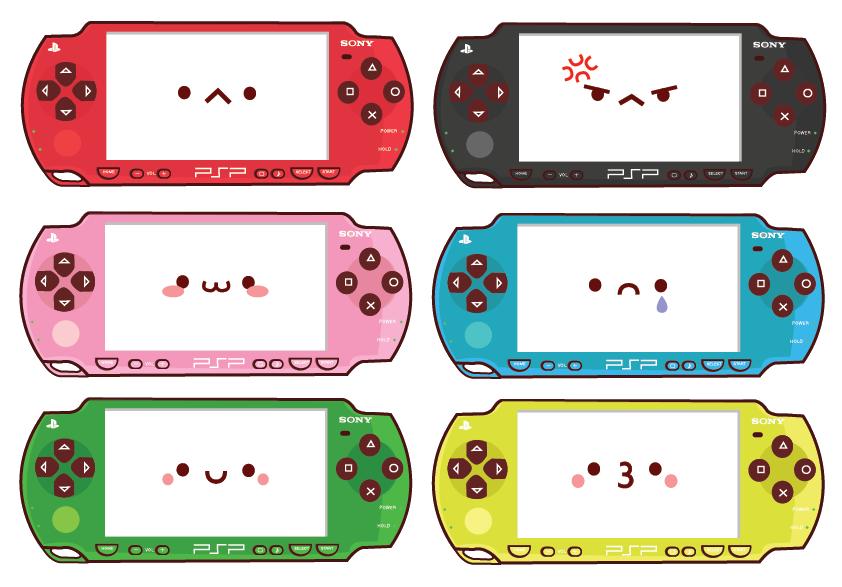 Rainbow PSP Family by Berri-Blossom