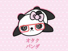 Panda Nerd by Berri-Blossom