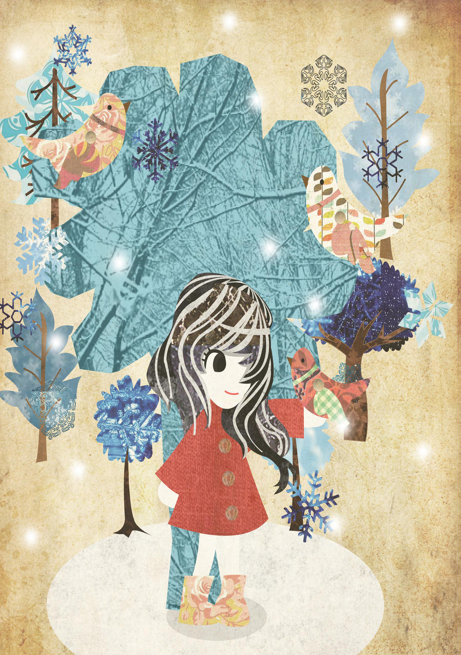 Christmas Card Design 2012 by Berri-Blossom
