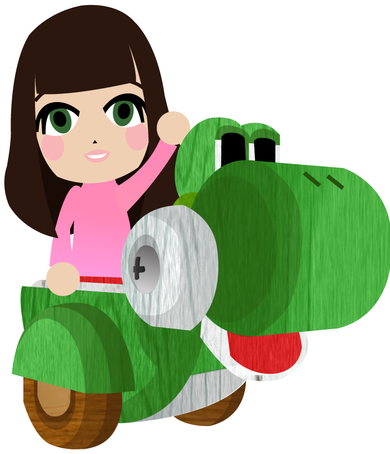 Yoshi Cart! by Berri-Blossom