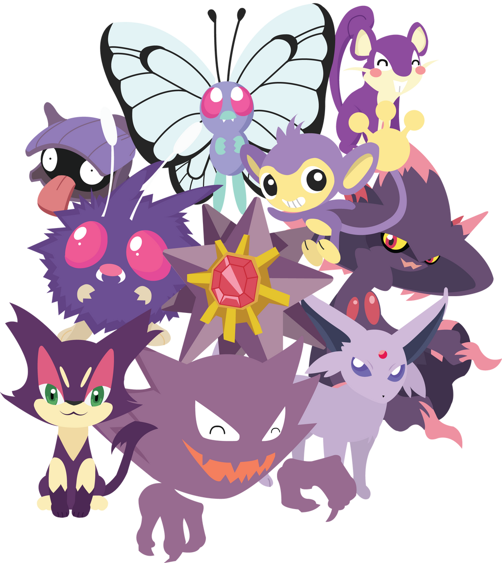 Purple Pokemon Unite! by Berri-Blossom