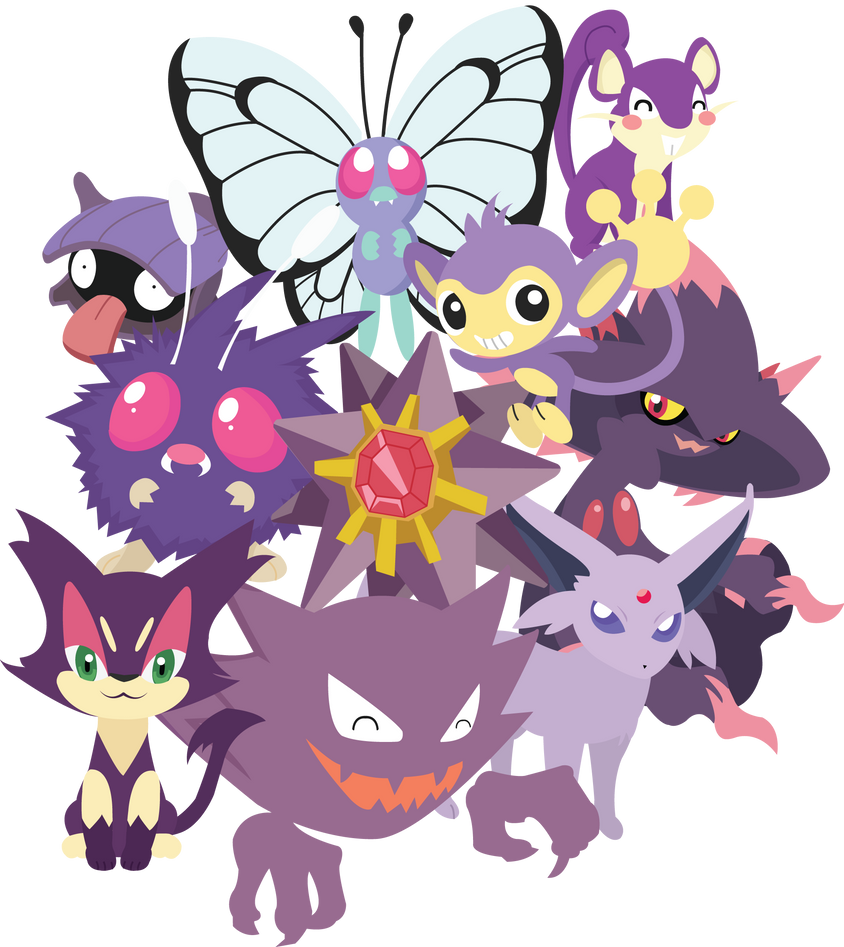 Purple Pokemon Unite By Berri Blossom On DeviantArt