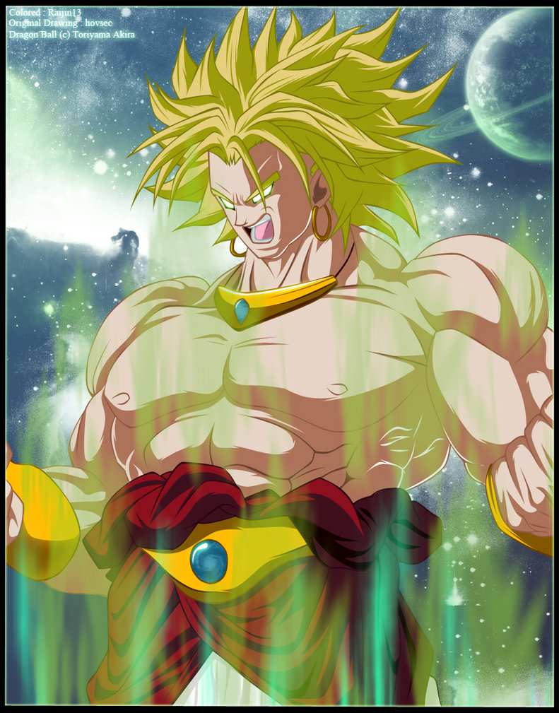 Top 28 The Legendary Saiyan Broly Dragon Ball Z