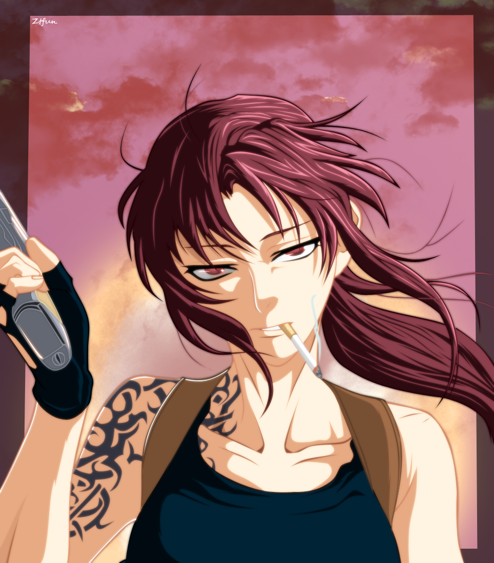Black Lagoon - Revy by Ztfun