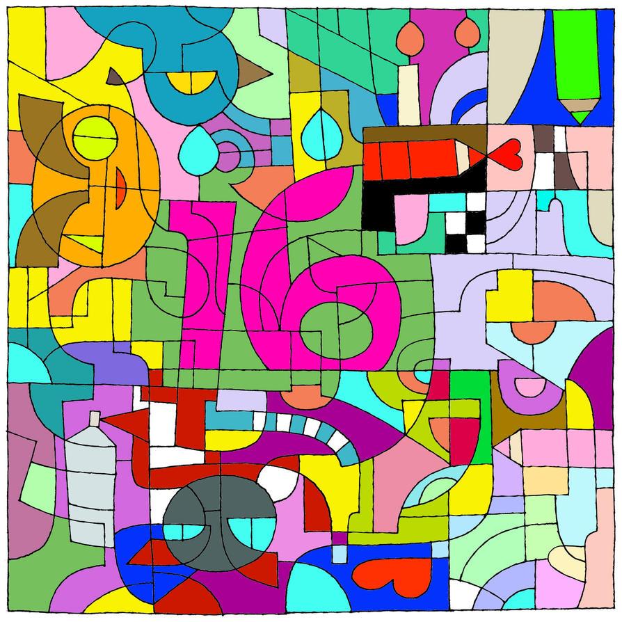 Deviantart 16th birthday thingamabob by NerdyBiscuits105