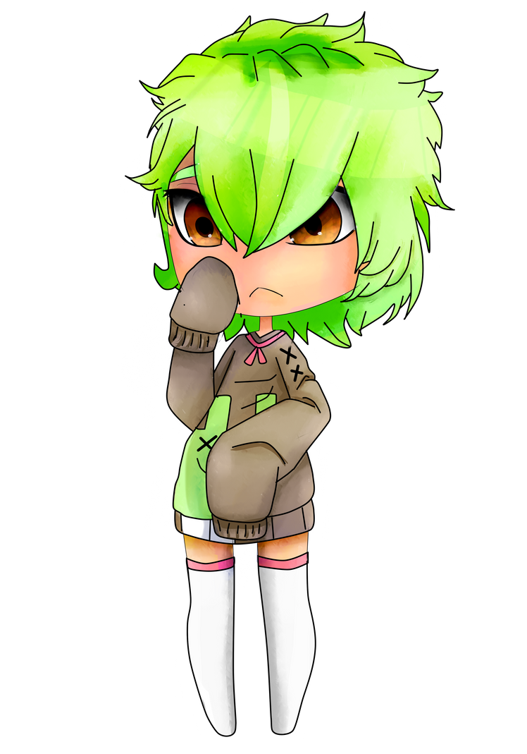 shy Midori is shy by NerdyBiscuits105