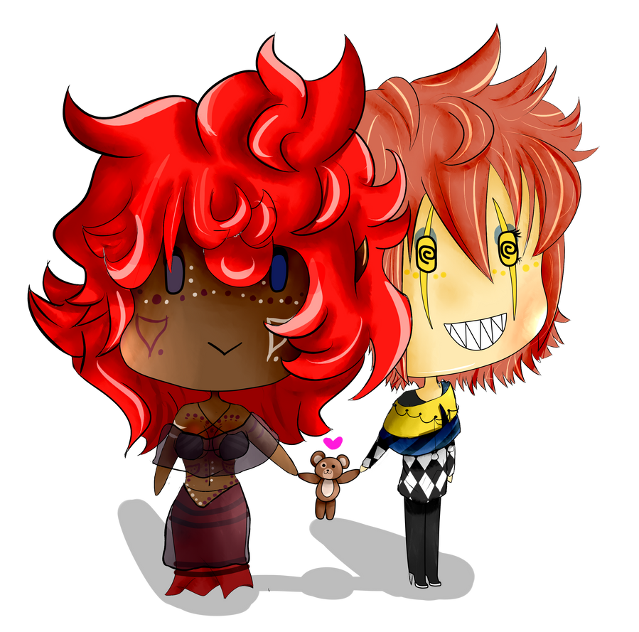 Kay and Zee! TOGETHER FOREVER!!!! by NerdyBiscuits105
