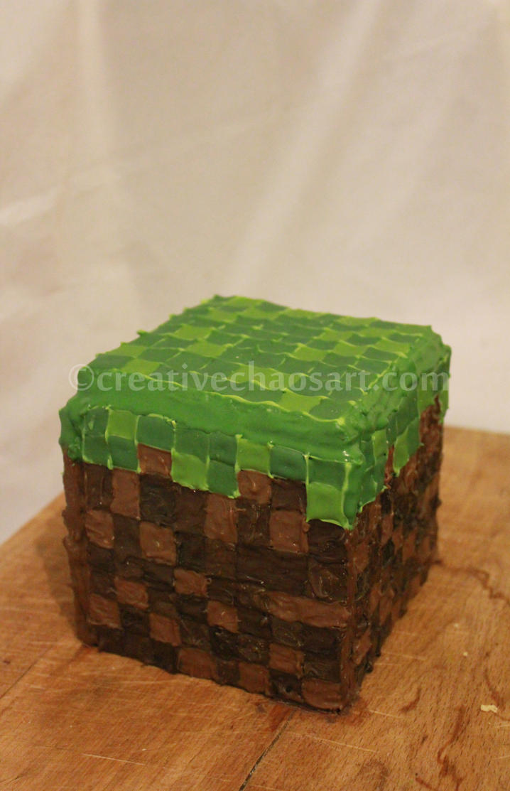 Minecraft Cookies by bicyclegasoline