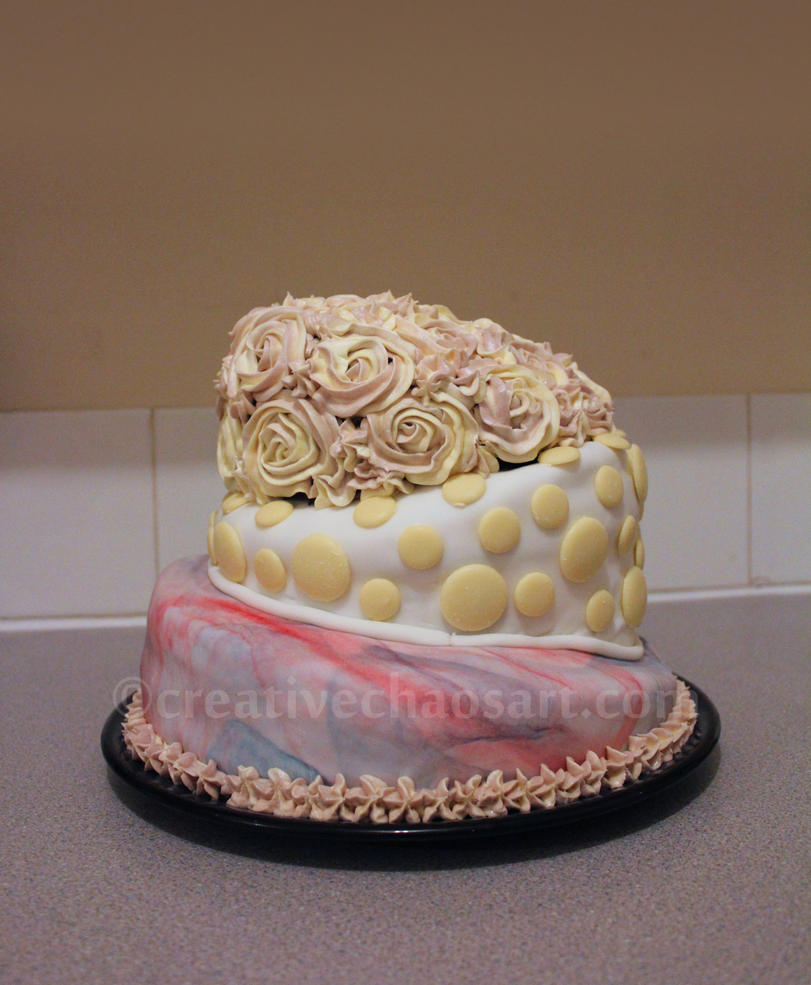 Th Buttercream Tiered Birthday Cake