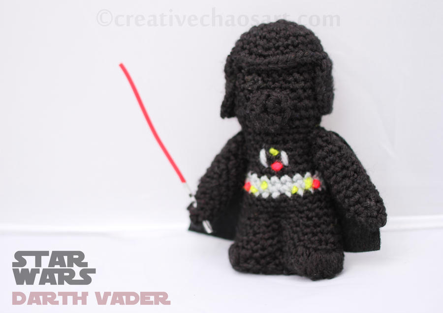 Amigurumi Snake Pattern Free : Darth Vader Crochet by bicyclegasoline on DeviantArt