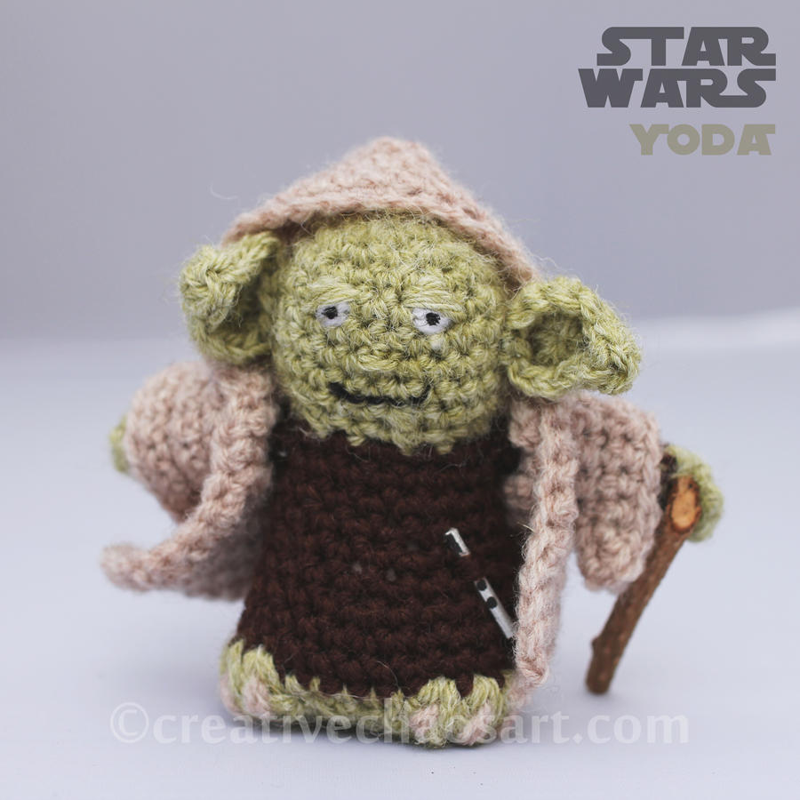 Crochet Yoda Pattern : Yoda Crochet by bicyclegasoline on DeviantArt