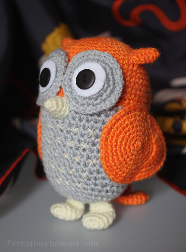 Crochet Owl by bicyclegasoline
