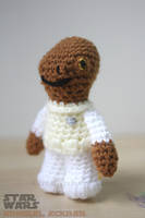 Star Wars Crochet || Admiral Ackbar by bicyclegasoline