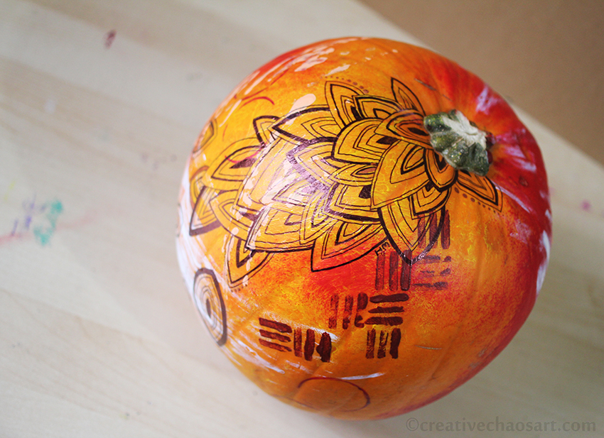 Abstract Pumpkin by bicyclegasoline