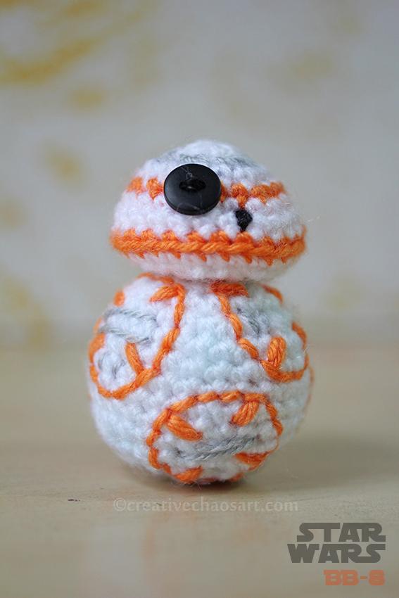 Star Wars Crochet || BB-8 by bicyclegasoline