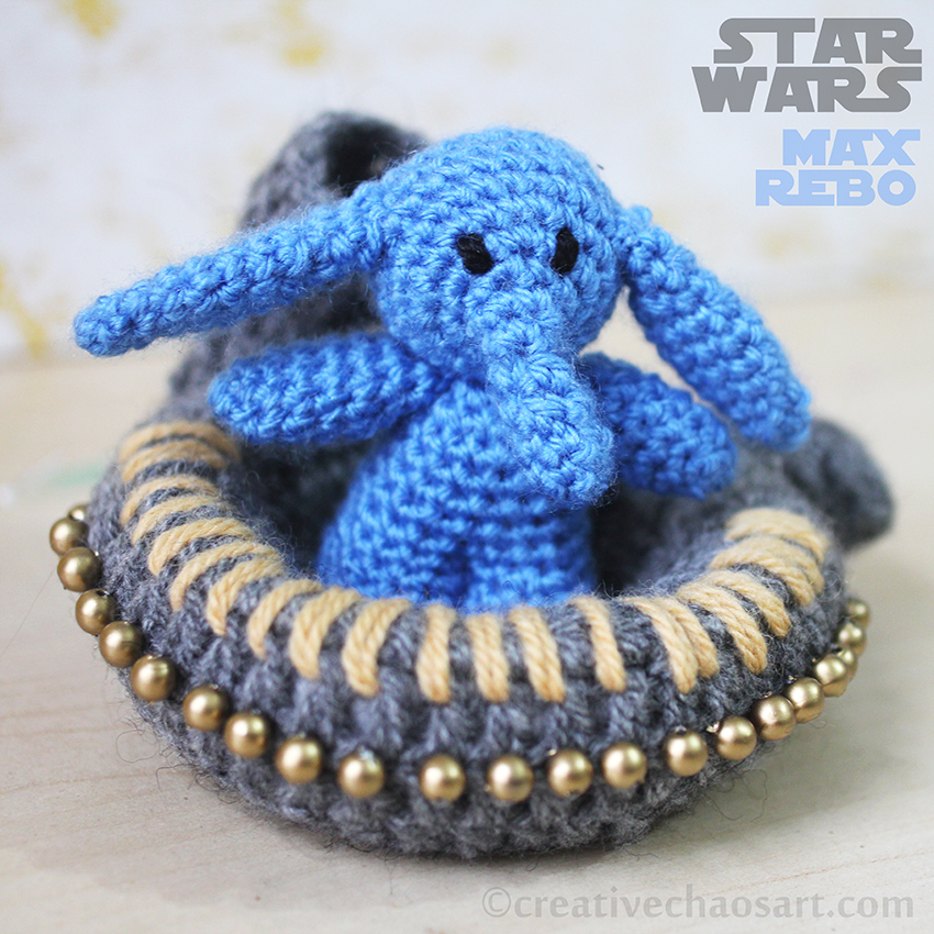 Star Wars Crochet || Max Rebo by bicyclegasoline