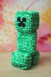 Crochet Minecraft Creeper