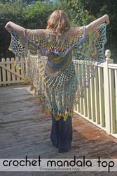 Crochet Mandala Top