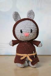Crochet Jedi Bunny