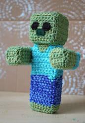 Crochet Minecraft Zombie