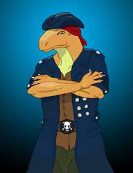 Captain Mackenroe Rokford by Bucketfox