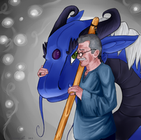 Father - The Storyteller by Bucketfox