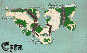 Ezra - World Map by Bucketfox