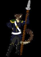 Captain of the Stoatorian Guard by Bucketfox