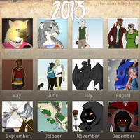 Year In Review Meme by Bucketfox