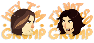 ...and we're the Game Grumps! by Bucketfox