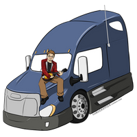 Truckin' by Bucketfox