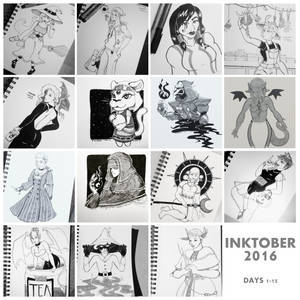 Inktober Part 1