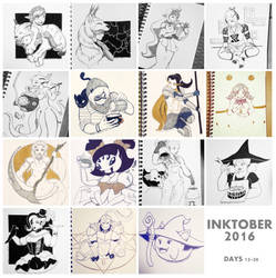 Inktober Part 2