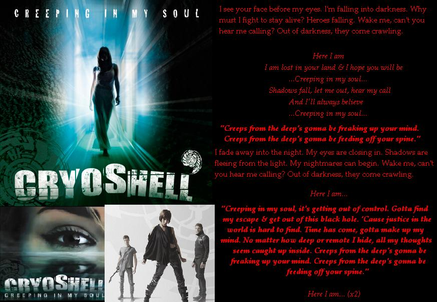 Lyric fall into me lyrics : Cryoshell, Creeping In My Soul lyrics page by xXDragonKeeper321Xx ...