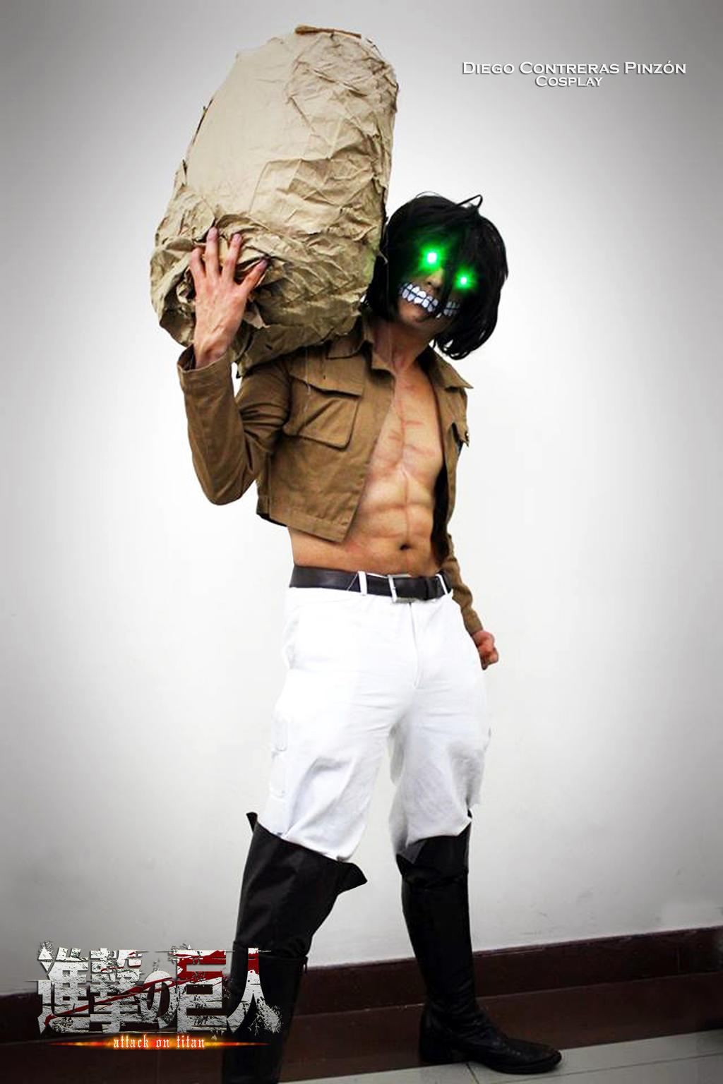 Eren Titan uniform cosplay by DiegoContrerasP on DeviantArt
