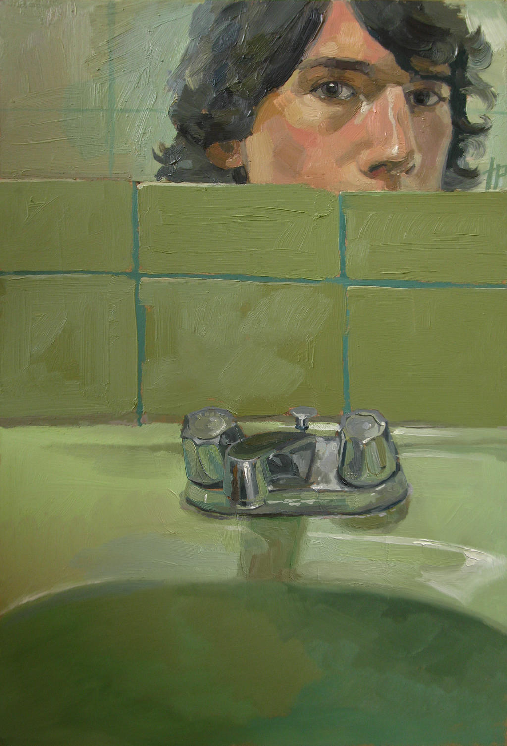 Self Portrait in the bathroom by TomasProchazka