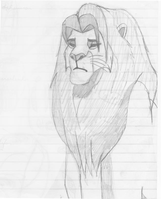 mi arte (si es que a esto se le puede llamar arte) Simba_by_xtremejoe-d59delq