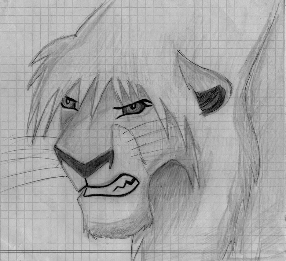 mi arte (si es que a esto se le puede llamar arte) Lion_king_style_by_xtremejoe-d6qa3py