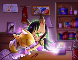 Contest: Tails X Nicole by RaHmADiTa2219